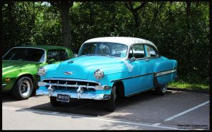 1954 Chevrolet Bel Air by compaan-art