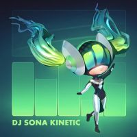 LoL - 3D DJ Sona Kinetic Chibi Render by cubehero