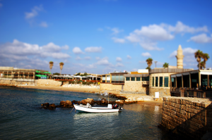 Caesarea's Old Harbor by JoE-EviL