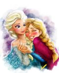 Elsa and Anna! by vanadise