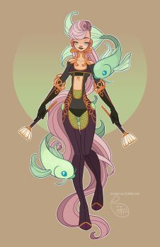 Character Design - Pisces by MeoMai