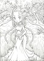 The Bunyip Princess of the Billabong Sketch by Bella-ran