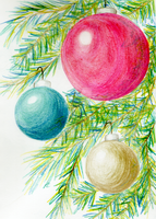 Drawcewmber2015ornaments by superpower-pnut