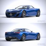 Mazda RX7 2012 Concept WIP4 by The-IC