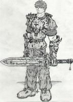 Armored Warrior by aca