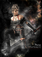 Paine-Final Fantasy X-2 by Kot1ka