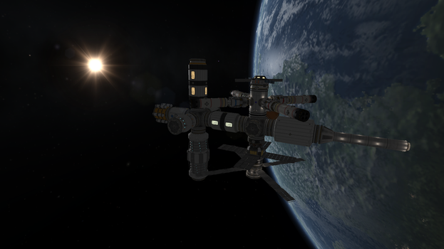 KSP - New Horizons Space Lab by Shroomworks