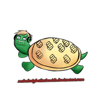 PewDiePie the Turtle by MrLudwigBeilschmidt
