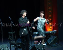 Amanda Palmer and Neil Gaiman by pinkplastik