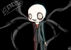 --Slenderman-- by Aura-shadow