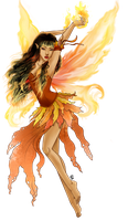 - fire fairy - by odduckoasis