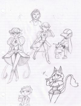 Sketches (9/6/2015) by TezarroEX
