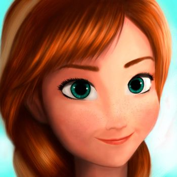 Anna (Frozen) by MetaL--Art