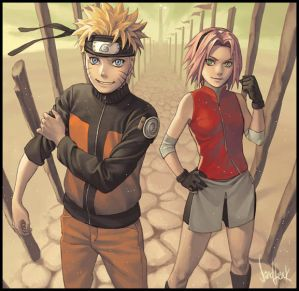 ��� ���� ������ ���� ��� ����� ������ 2012 ������   ������   ��� Naruto_and_Sakura_by