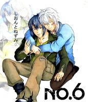 Nezumi and Shion (No. 6) - Hug from the back by KiraShion