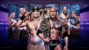 John Cena vs The Rock Wrestlemania 29 by i-am-71