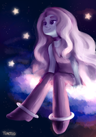Space girl [OC] + Speedpaint video by Cotton-Monster