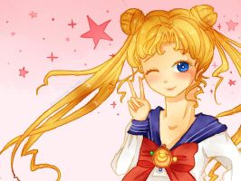 Pretty Guardian Sailor Moon! by cateau