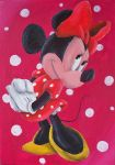 Minnie Mouse by billywallwork525