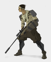 Scout - Character Design by EsbenLash