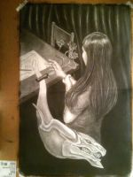 LOL BELATED LIFE DRAWING MIDTERM by DelusionalPuffball