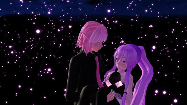 Gakuko x Luki --my first models MMD-- by Lycd07