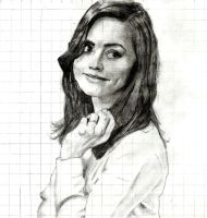 Jenna Coleman from Doctor Who by fezzes-and-bowties