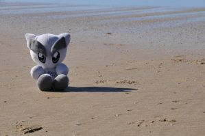 Fella on the sand by OpalMist
