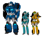 .:TF-MTMTE - OCs : SlamPipe, Plus and Minus:. by JACKSPICERCHASE
