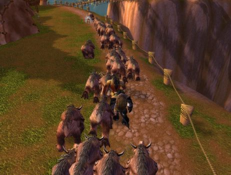 Druids of the Beast Thunder Bluff to SW by Druidsofthebeast