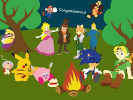 Congratulations from Nintendo by AntonyBearpark