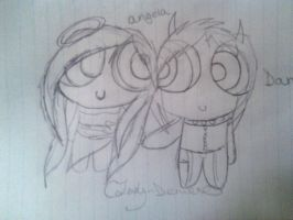 PPG STYLE angela and damien by Claddle