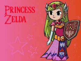 Princess Zelda Wallpaper by 12Ang122