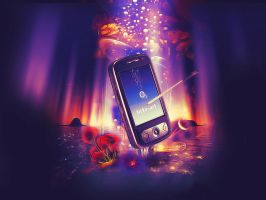 Mobile Phone Art by mtmac