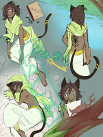 SketchPage C: Royal-Jelliefish by Hackwolfin