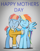 Mothers Day with Dash and Windy by OinkTweetStudios