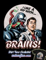 Venom Loves Brains by ninjaink