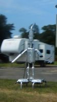 Muffler Bot by BLUEamnesiac