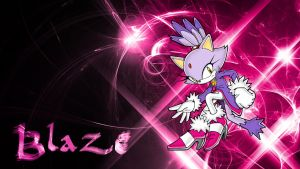 Blaze (Wallpaper) by Hardii