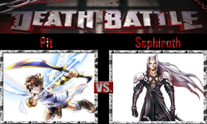 Pit vs Sephiroth by SonicPal