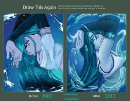 Water Frame REDRAW by Ninjashen