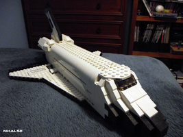 Lego Space Shuttle Discovery by MHalse