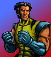 Classic Wolverine by AndgIl