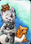 Muukster collab ACEO by Sternen-Gaukler