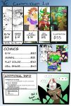 New Commission list by Vale-city
