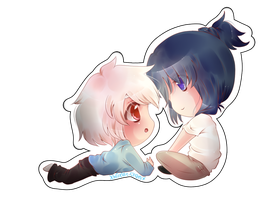 :CP: Shion and Nezumi by XMireille-chanX