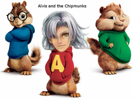 Alvis and the Chipmunks by Sergy92