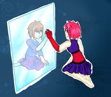 Reflect from past by Strawberry-Itchiko