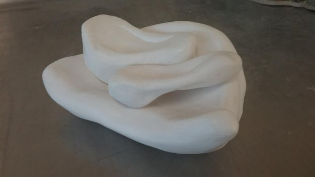 Plaster Project - Untitled by Geckogirl315