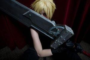Cloud Strife-4-Otaku 2010 by Ginger-Jude